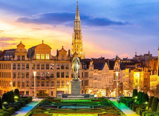 Holanda, Bélgica, Alemanha e França