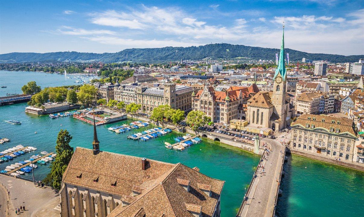 Roteiro de Suiça, Itália, Eslovênia e Áustria